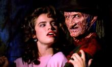 Freddy and his Main Adversary Nancy from the Original Nightmare on Elm Street
