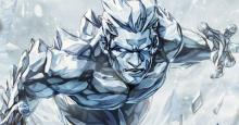 Iceman giving a Ice Cold Stare