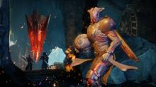 To create their weapons Guardians must find and participate in a forge event.....