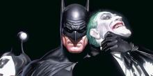 An Alex Ross Drawing of the Hero and Foe