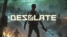 The poster for Desolate excellently sets the mood for the game.