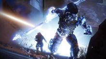 Be careful when firing at an Arcstrider hunter, their super can deflect rockets!