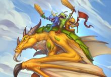 This dragon gives your murlocs divine shield