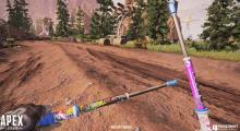 First-person view of Lifeline's epic shock sticks