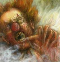 Some truly excellent, yet horrifying artwork for Pennywise