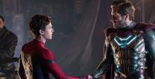 A screenshot from Spider-Man Far From Home