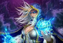 Jaina is the mage hero