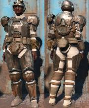 Just because it's Fallout, don't feel you can't represent the Imperial Guardsmen of 40k. Remember, the planet broke before the Guard did.