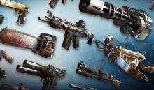 One of the appeals of FPS games is the wide variety of weapons that you can use.