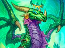 This dragon can generate lots of tempo