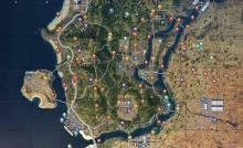 Helicopter, truck, and ATV locations in Blackout mode