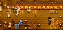 There are benefits to having a varied coop, such as having varied consumables.
