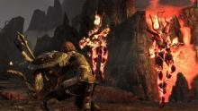 A fiery battle ensues