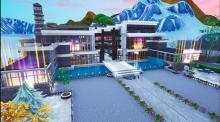 Take a tour of this huge modern mansion!