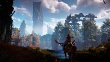 Aloy can control and ride hostile machines in Horizon Zero Dawn