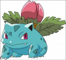 Ivysaur is number 2 in the official Pokemon pokedex