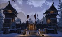 A glimpse of the strong walls of the Ebonheart Pact