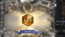 The OTK deck reaches rank 167 Legend
