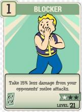 Take 15% less damage from your opponents' melee attacks