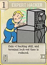 Gain +1 hacking skill and its terminal lock-out time is reduced.