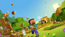 Check out this adorable Minecraft screensaver!