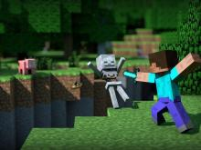 Check out this dope Minecraft screensaver!
