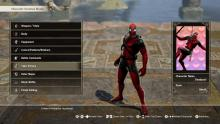 The goofy yet dangerous Deadpool looks comical yet deadly.