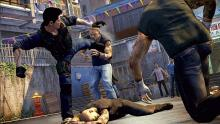 The battles go all over the place in Sleeping Dogs.