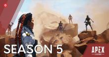 Season 5 of Apex Legends kicked off on May 12, 2020.