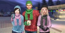 Bundle up and enjoy the cold in the warmth of your own home thanks to Second Life.