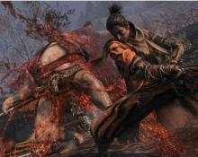 In Sekiro, you can really make your enemies bleed.