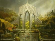Land from ravnica representing the guild