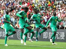 Senegal are famous for their dance celebrations.