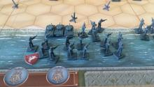 Begin your training with war board games by playing Memoir' 44.