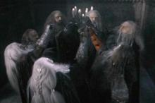 Sauron gave seven rings to the dwarves. Thorin's father Thrain had the last one, which Sauron stole back in the Hobbit.
