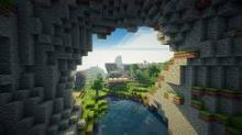 Want a Minecraft wallpaper with an extra bit of beauty? Shader wallpapers like this one will surely provide!