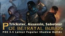 This killer build allows for powerful ascendencies, but the Trickster shadow build is by far the best you can pick from any and all of the builds to be able to bring you to the end game with ease, we believe. With two devestating moves, Frost Blade and Molten Strike, this character who dwells in the shadows is here to trick you into thinking he's not one of the best characters. But we promise you, we think he has what it takes to help you get far, as long as you know how to use him.