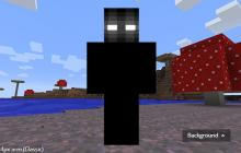 The legend of Herobrine takes on a new meaning of terror with this shadow version of the cursed creature himself.