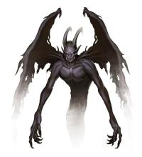 Shadow Demons have been influenced by the dark powers of the Shadowfell.