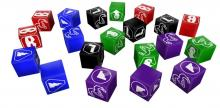 Make dice pools using these dice in Shadowrun: Sprawl Ops.