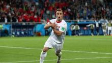 A more recent example of a controversial celebration would be Shaqiri's from the 2018 World Cup.