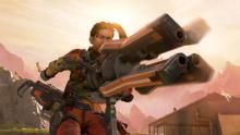 Sheila the minigun in action!