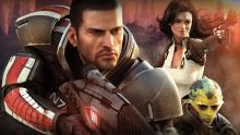 Commander Shepard and his crew