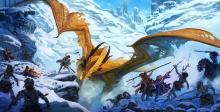 a Dragon battle