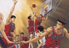A classic basketball anime, If you haven't watched Slam Dunk yet, it's an absolute must watch for sports anime fans.