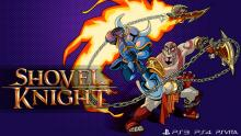 Shovel Knight can fight many foes, even Kratos!