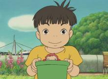 Sosuke didn't expect to get the adventure of his life time when he found a pretty goldfish near his house.