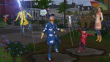 Playing in the rain can be fun - but watch out for lightning!