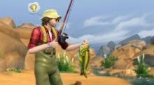 Fishing is a cheap way to build a skill while you collect useful items.