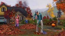 Fall brings leaves to rake or play in, you choose.
